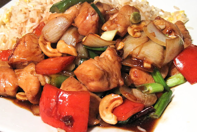 Chinese Chicken with Cashews