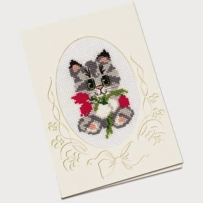 Ноября, вышивка открыток наборы
