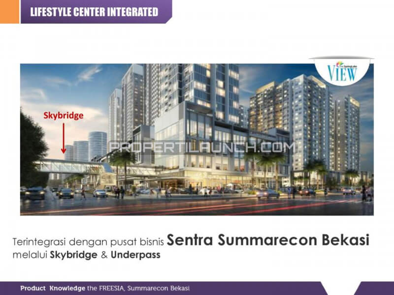 Integrasi ke Sentra Summarecon Bekasi
