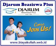 Djarum Beasiswa Plus 2017/2018 untuk S1 dan D4