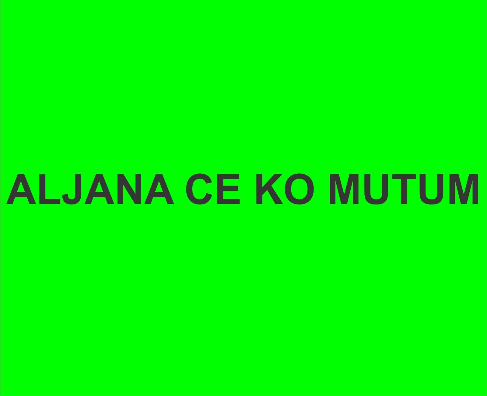 ALJANA CE KO MUTUM COMPLETE - Gidan Novels   Hausa Novels