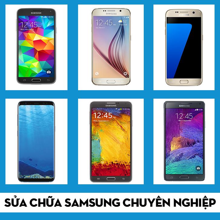 thay mặt kính Samsung Galaxy S4 tại HCM