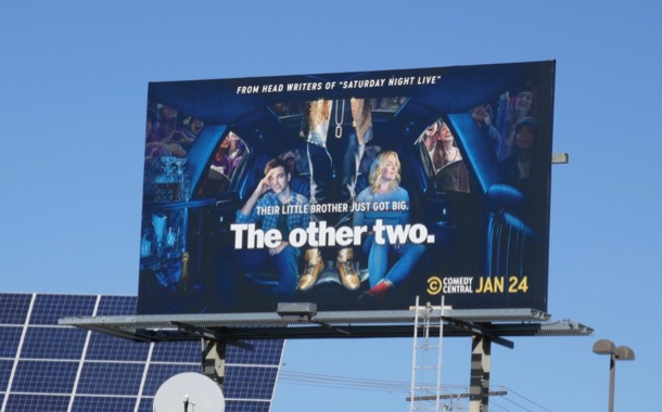 Other Two TV billboard