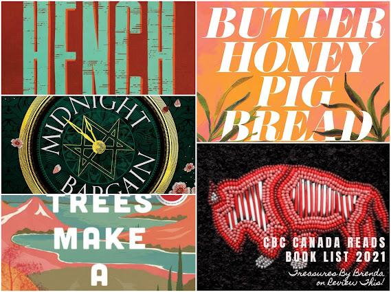 CBC's Canada Reads Book List 2021