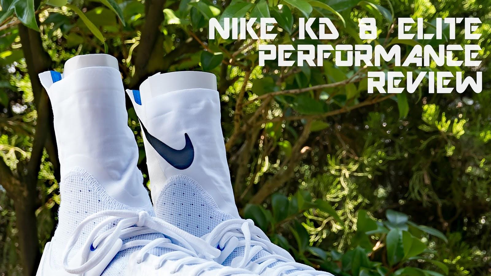 5ac4638f7692 Nike KD VIII (8) Elite Performance Review