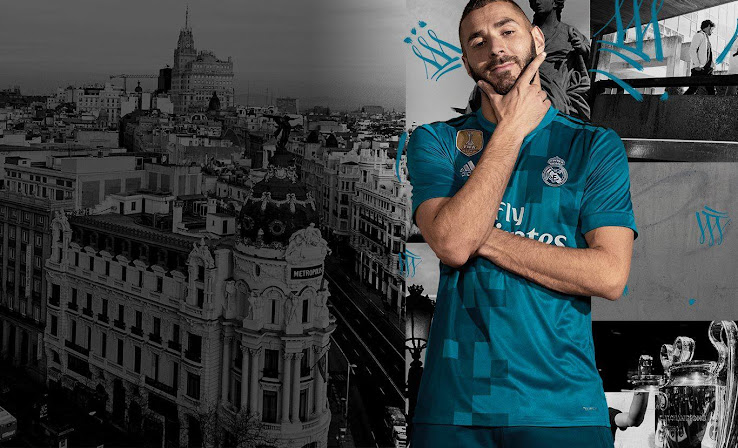 finest selection c14cb dff41 Real Madrid 17-18 Third Kit Released - Footy Headlines