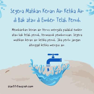 Menghemat Air