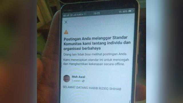 Facebook Dikecam karena Blokir Habib Rizieq: Rugikan Kehidupan Berdemokrasi