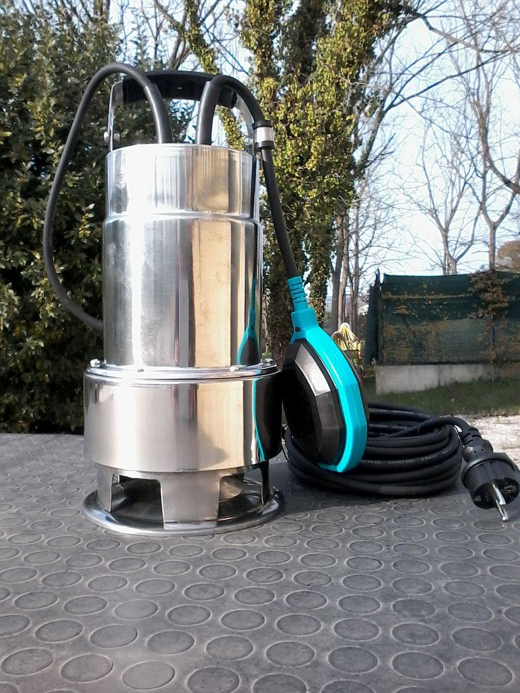 Casa dell 39 idraulica fermo pompe immersione acque nere for Pompe sommerse per acquari