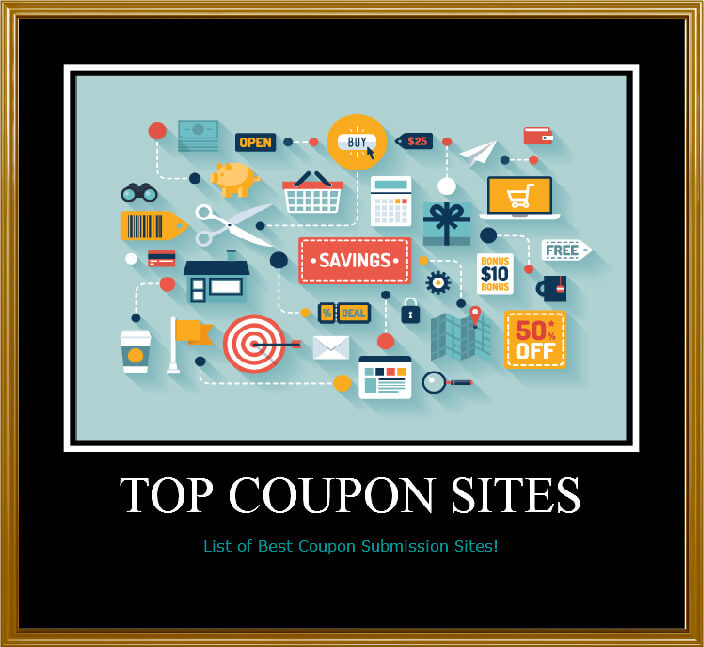 Submit coupon codes to sites