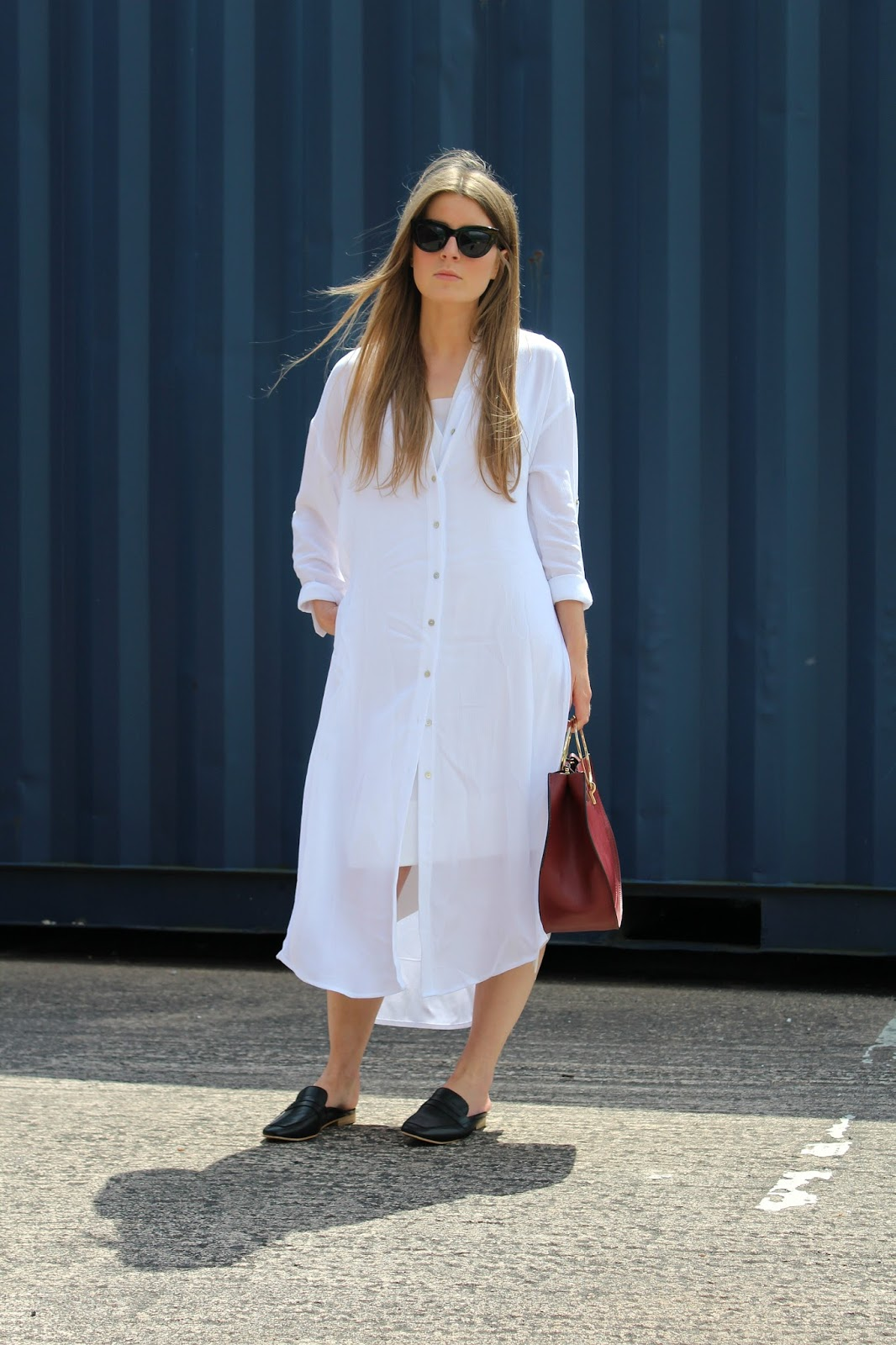 outfit oversized shirt dress  style trunk