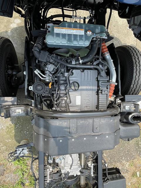 Động cơ Hyundai 110XL thùng bạt