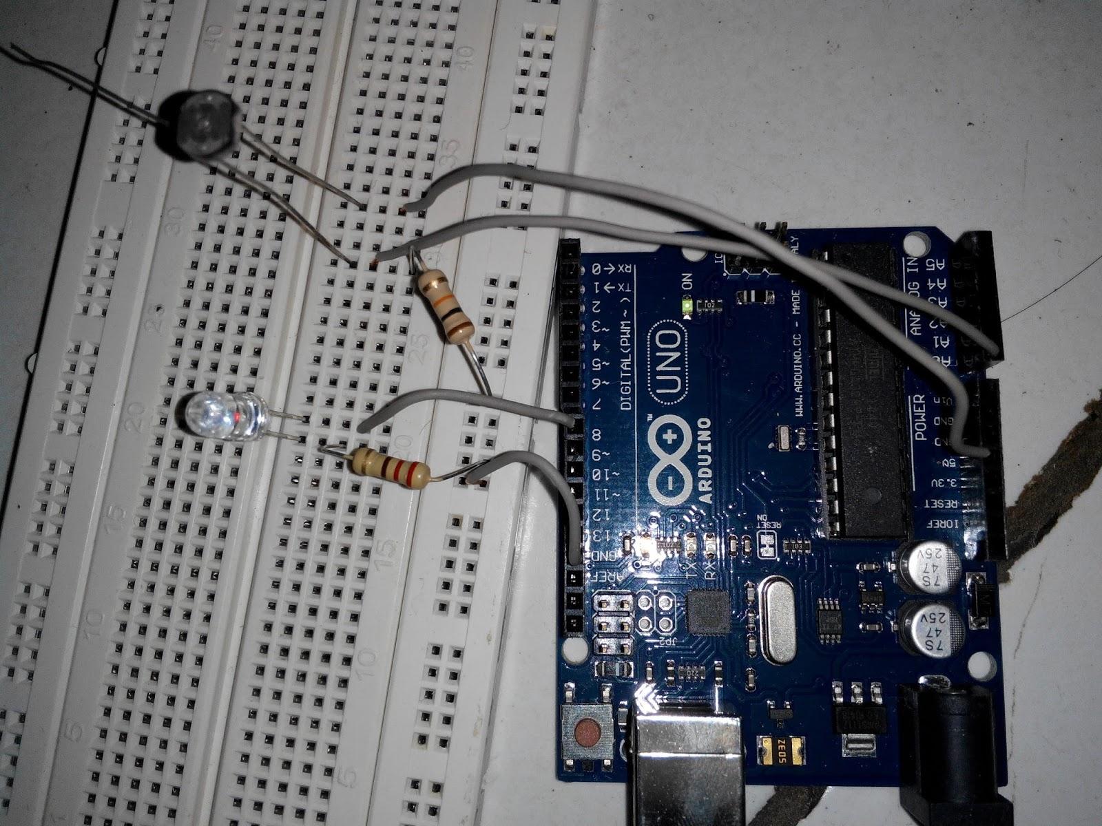 Penggunaan Ldr Pada Arduino Sebagai Sensor Cahaya Mari Berbagi Info Langkah Pertama Rangkai Komponen Tadi Seperti Gambar Dibawah Ini