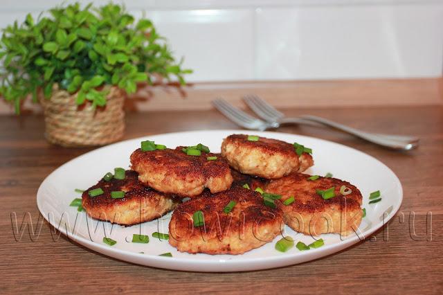 рецепт куриных котлет с яблоком с пошаговыми фото
