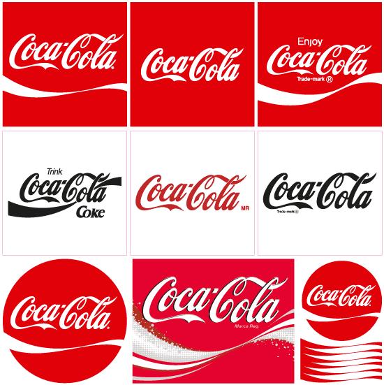 Logo de Cocacola vector