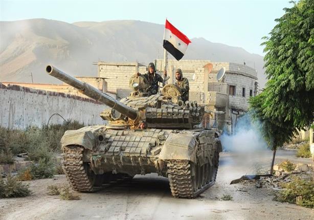 بالفيديو- الجيش السوري يعلن سيطرته على ''وادي بردي'' بريف دمشق