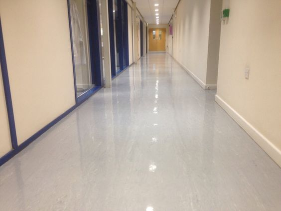 Commercial Vinyl Floor Cleaning Sealing And Polishing In Cambridge