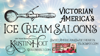 Kristin Holt | Victorian America's Ice Cream Saloons