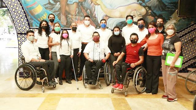 Funcionarios de Ayuntamiento de Atlixco reciben taller de sensibilización por el INDEP