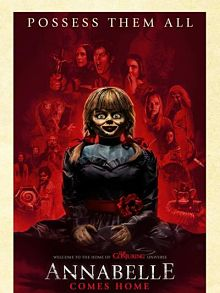 Sinopsis pemain genre Film Annabelle Comes Home (2019)