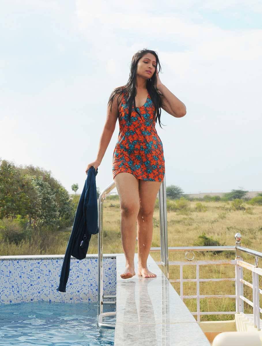 Priya Vasista Latest Photos From Swimming Pool Movie -4422
