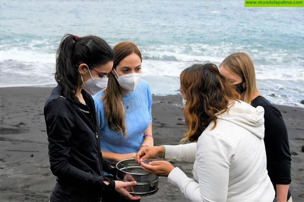 Medio Ambiente colaborará con Implamac para analizar la presencia de microplásticos y contaminantes en las costas palmeras