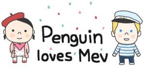Penguin Loves Mev Manga