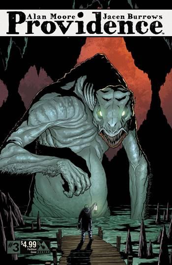 Providence es un cómic de Alan Moore de terror