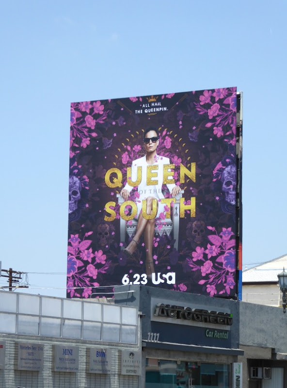 Queen of the South series billboard