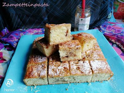 Torta con robiola e marmellata
