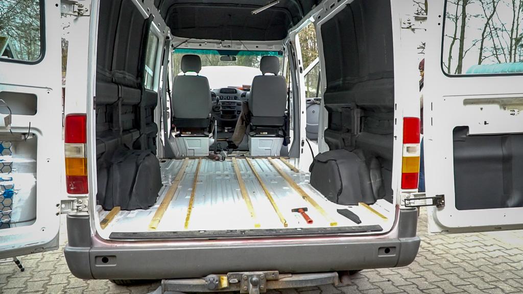 Wohnmobil Fußboden Dämmen ~ Vom sprinter zum wohnmobil dämmung mit armaflex und alubutyl