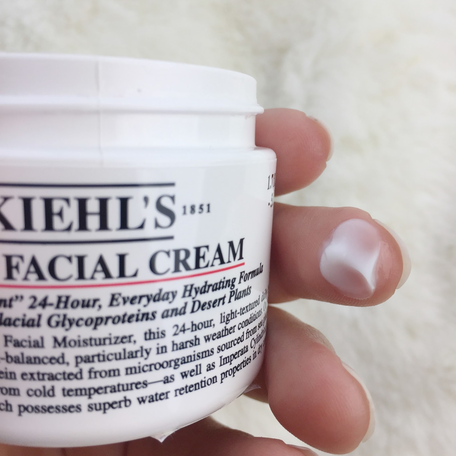 Kiehl's ultra facial cream konzistence