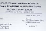 KORPRI: Imbau Galang Donasi Untuk Bantuan Penanganan Covid-19 di Garut