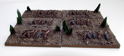 6mm Fantasy Skaven rat Swarm