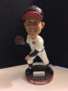 31ad98e727 The Reds previously gave out a Nuxy nodder in 2004, and the Reds Hall of  Fame and Museum gave out this bobblehead of Nuxhall in June of 2019.  Unboxing Video
