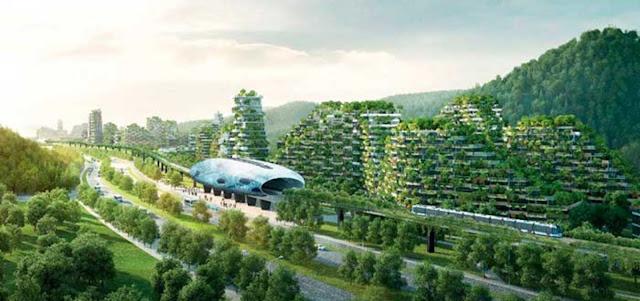 China crea la primera ciudad forestal del mundo