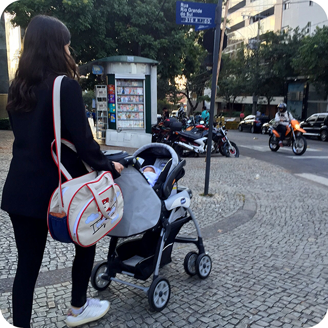 Cuidados com o Recém-nascido : Passeios