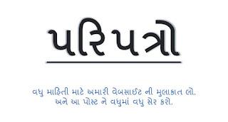 Madhyamik / Uchchatar Madhyamik Shikshan Sahayak Bharti Mate Laykat, Vishayo ame Madhyamo Babat Paripatra