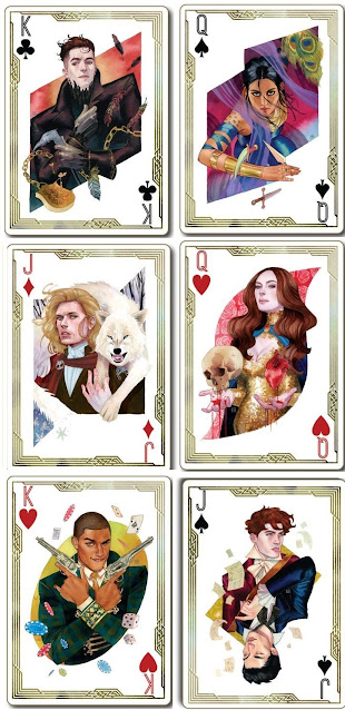 personajes de seis de cuervos