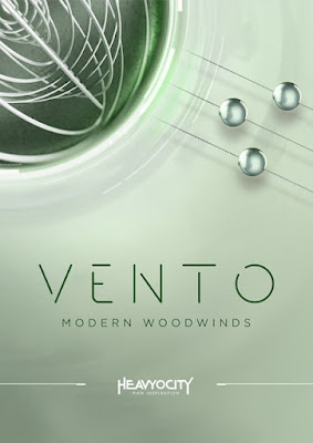 Cover da library Heavyocity - VENTO: Modern Woodwinds (KONTAKT)