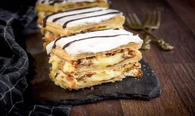 الحلويات الفرنسية ميلفاي