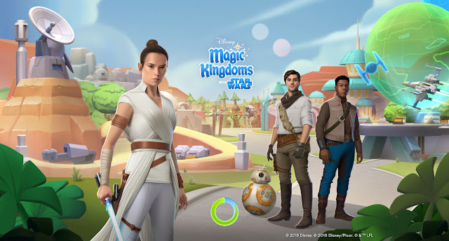 Disney Magic Kingdoms Star Wars Load Screen