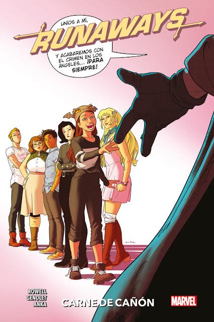 Review del cómic Runaways Vol.5 de Rainbow Rowell y Andrés Genolet - Editorial Panini