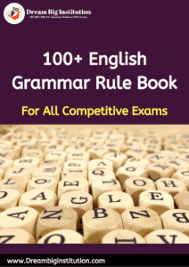 100 Golden Rules for English Grammer