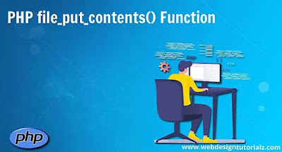 PHP file_put_contents() Function