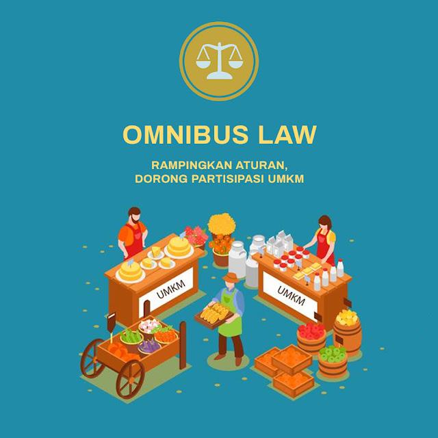 Selain Merampingkan Aturan, Omnibus Law Dorong Pengembangan UMKM