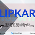 How to run ads on Flipkart for Products Selling?