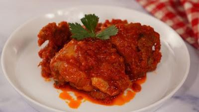 Resep Ramadan: Tumis Ayam Bumbu Merah