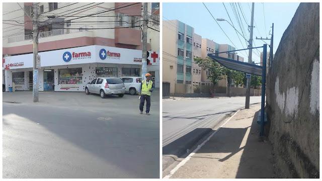 Moradores continuam cobrando retorno do ponto de ônibus