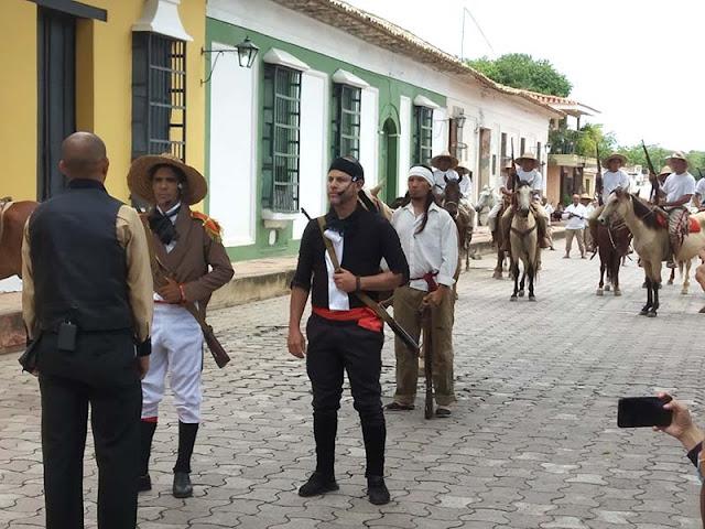CONMEMORARON 200 AÑOS DEL PASO DE URDANETA POR CARORA